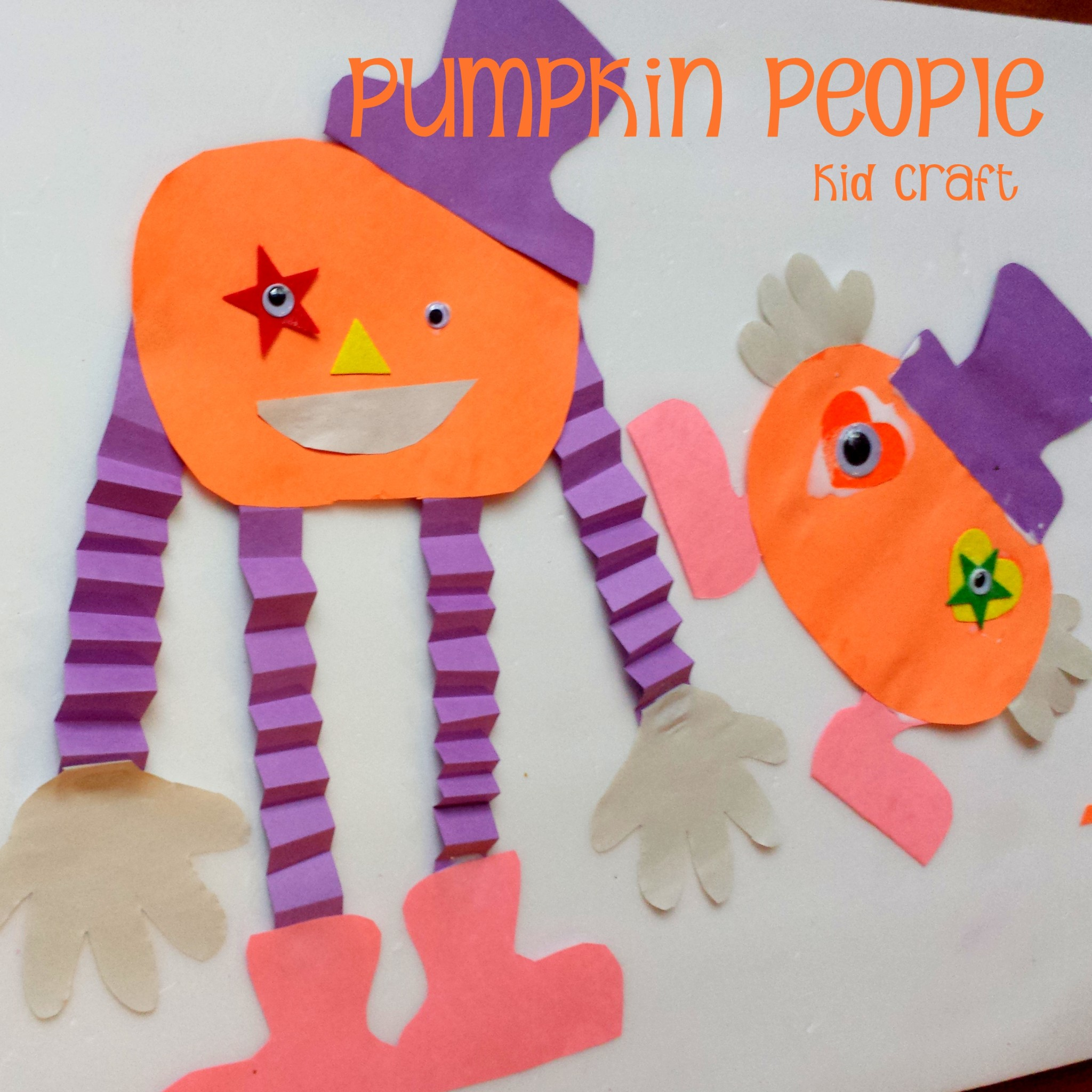 Miniature masterminds pumpkin people halloween kid craft jeuxipadfo Choice Image