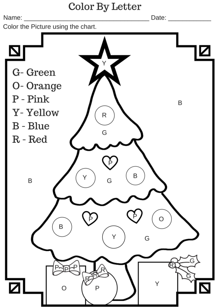 colorbyletterchristmastree