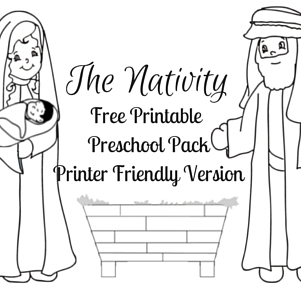 The NativityFree Printable Preschool