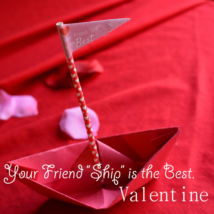 Your Friend Ship Is The Best Valentine Craft