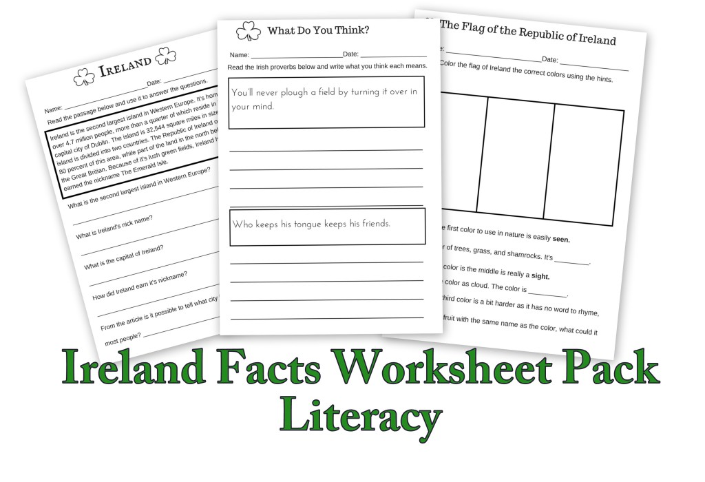 Ireland Facts Literacy Worksheets Let's Learn About At Mspartnersco: Irish Famine Worksheets At Alzheimers-prions.com