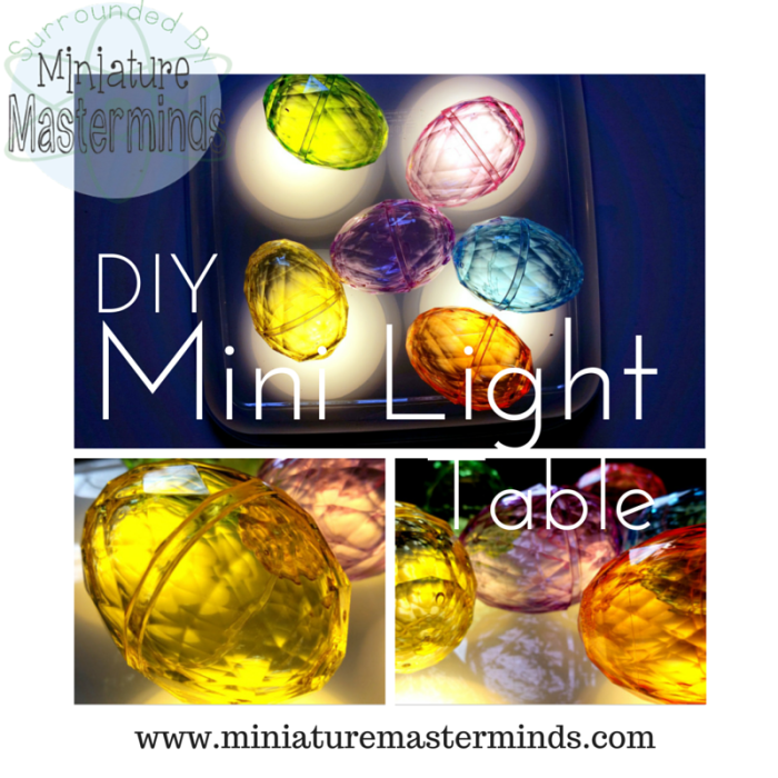 DIY MINI LIGHT TABLE