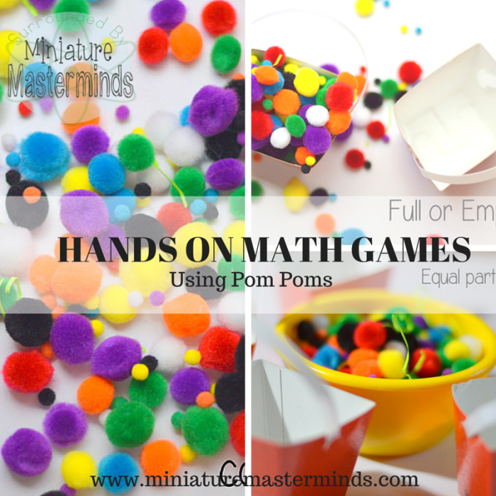 Hands on Math Games with Pom Poms www.miniaturemasterminds.com (6)