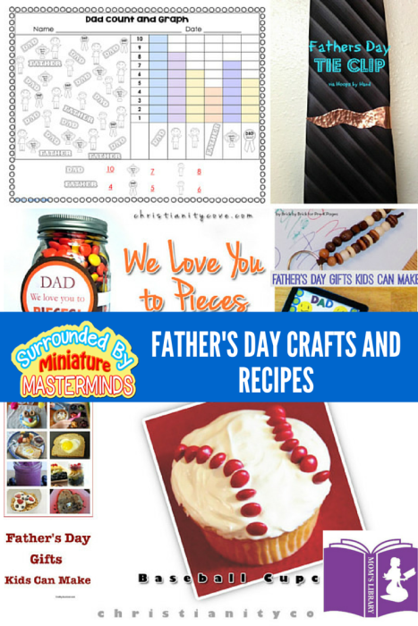 Mom's Library Father's Day Crafts and Recipes