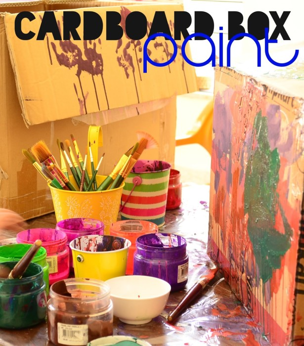 Paint a Giant Cardboard Box 01 Cover Pic