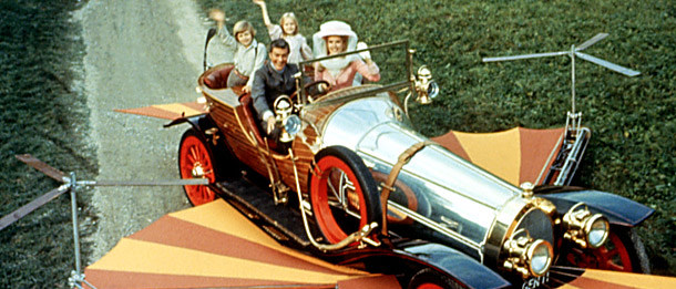 CHITTY CHITTY BANG BANG, Adrian Hall, Dick Van Dyke, Heather Ripley, Sally Ann Howes, 1968