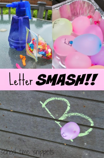letter smash Collage