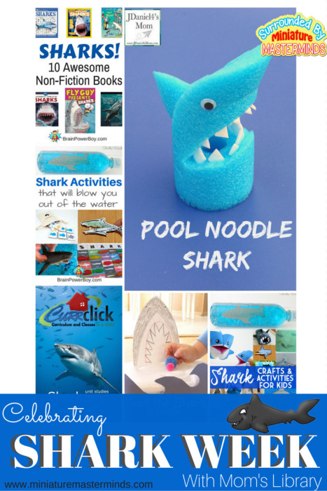 Celebrating Shark Week with Mom's Library