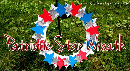 patriotic-star-wreath