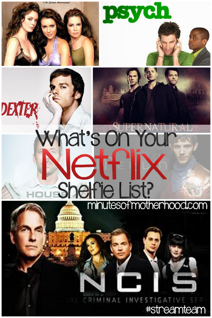 whats on your shelfie list