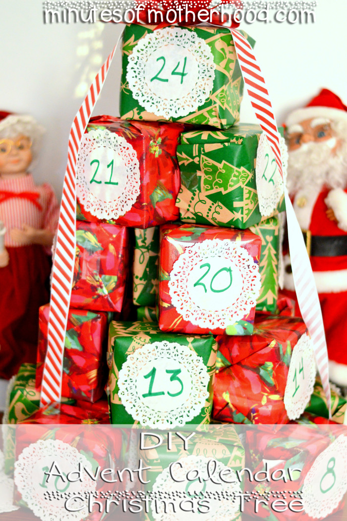 DIY Advent Calendar Tree