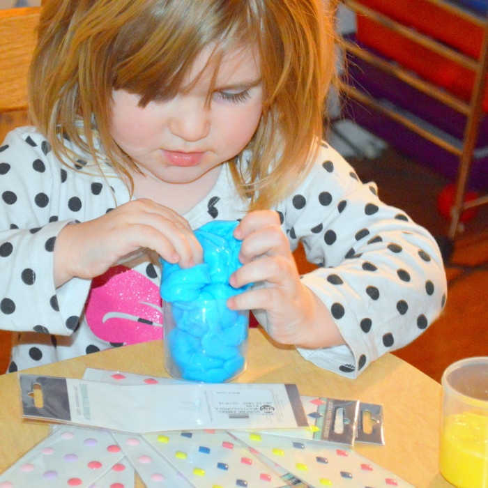 Minion Inspired Slime Sensory Fun DIY Project Minutes Of Motherhood.png