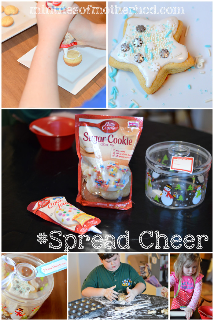 #SpreadCheer With Betty Crocker Sugar Cookies