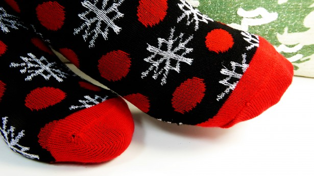 snowflake-socks
