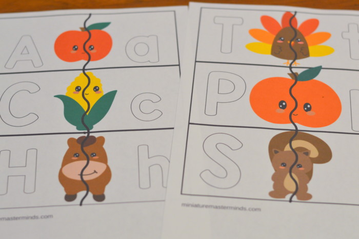 FREE Printable 60 Page Preschool and Kindergarten Thanksgiving – Preschool Thanksgiving Worksheets